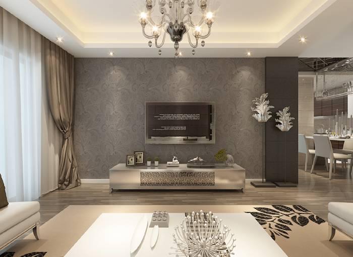 室内客厅简约风格装修效果图
