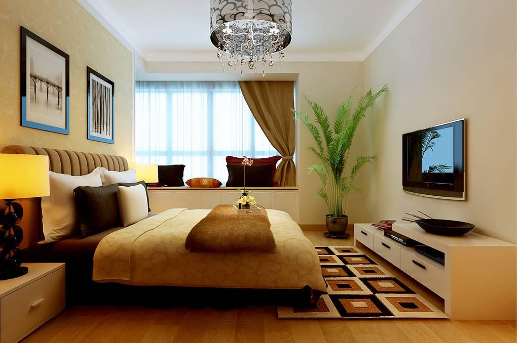 后现代风卧室装修搭配室内榻榻米,真的是美极了